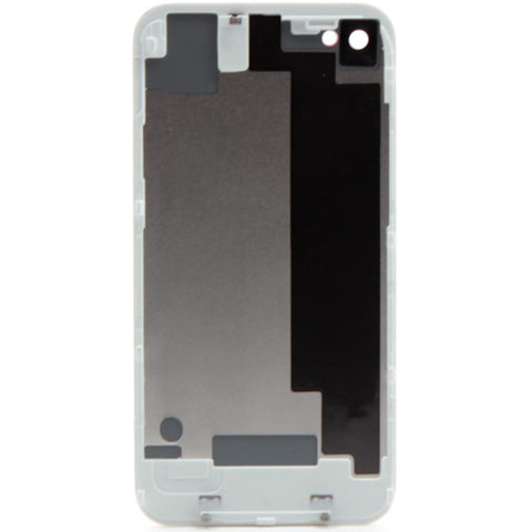 iPhone 4 CDMA Back Glass White - NO APPLE LOGO OR WRITING