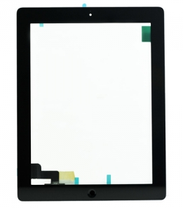 iPad 2 Full Digitizer Assembly Black