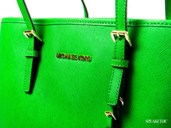 Bolsa Michael Kors North South Tote en verde