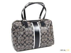 Bolsa Coach Nancy Signature Stripe