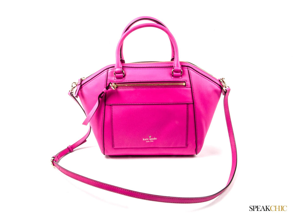 Kate Spade York Avenue Small City Satchel en rosa