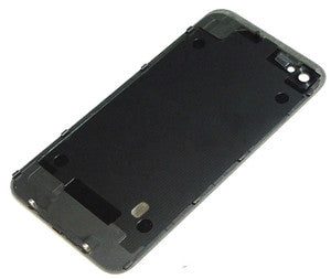 iPhone 4 CDMA Back Glass Black - NO APPLE LOGO OR WRITING