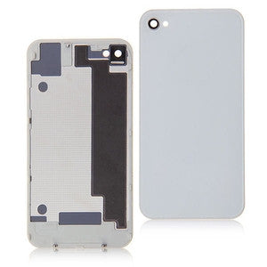 iPhone 4 GSM Back Glass White - NO APPLE LOGO OR WRITING