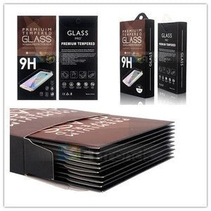 iPhone 5 Series Tempered Glass - Nice Retail Packaging - Rounded Edges