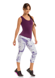CYSM - Colombia y su Moda Purple Capri [product_vendor ]  Capri, CYSM, Fajas Premium, Shapewear, Body Shaper