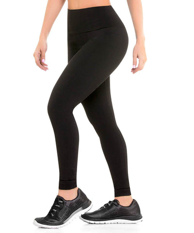 901 - Ultra Compression and Abdomen Control Fit Legging Black