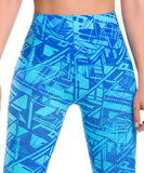 922 - Ultra Compression and Abdomen Control Fit Legging Artic Blue