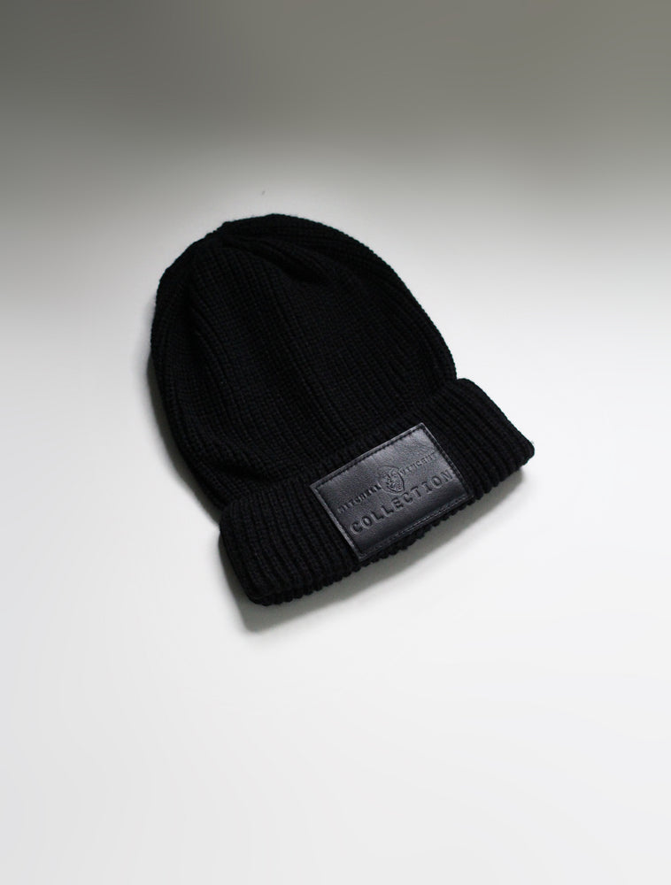 Load image into Gallery viewer, Fisherman MVC Beanie in Black
