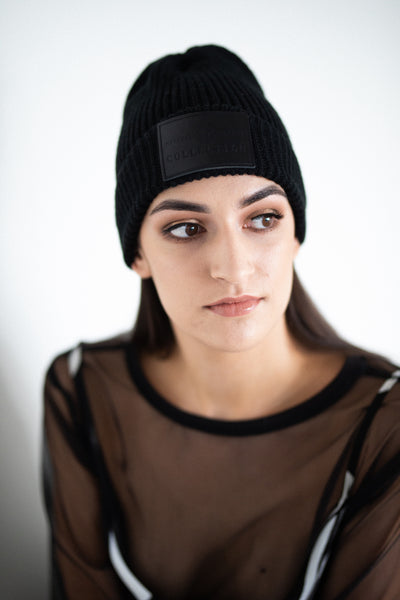 Fisherman MVC Beanie in Black