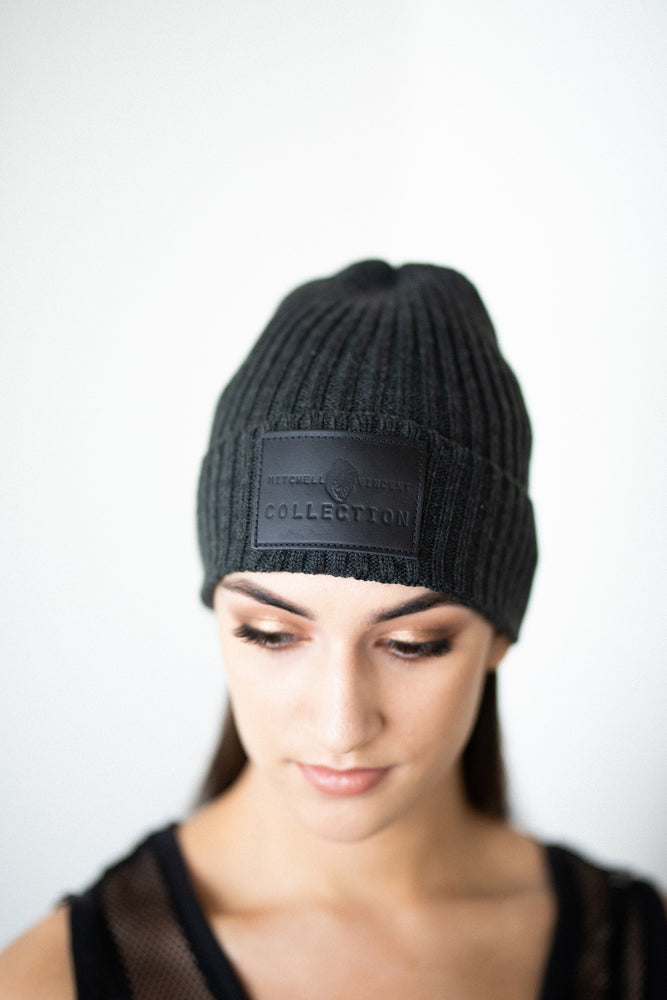 Load image into Gallery viewer, Fisherman MVC Beanie in Charcoal