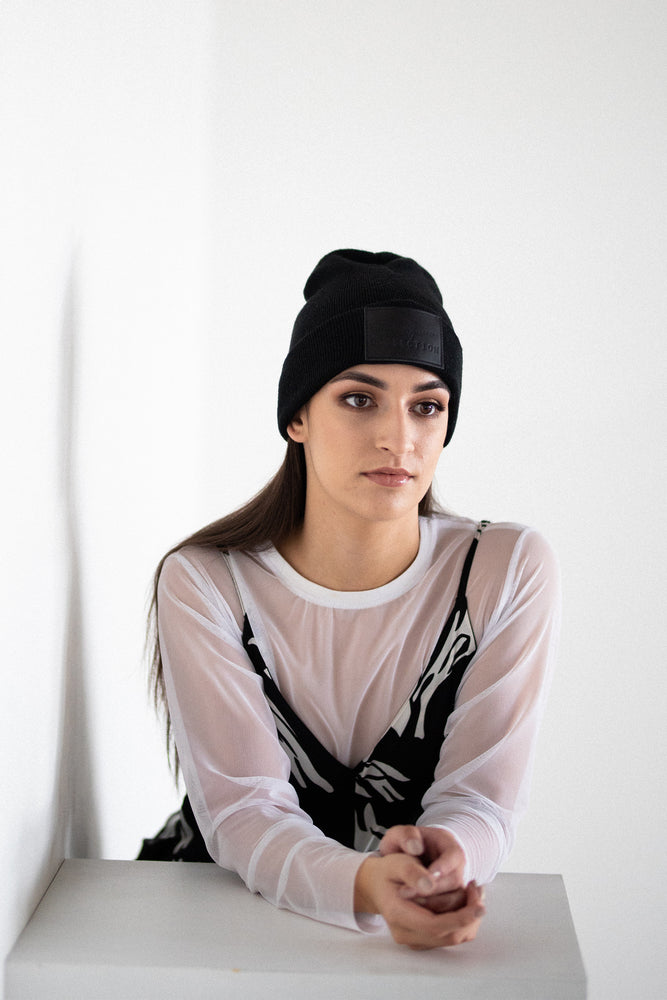 Staple MVC Beanie in Black