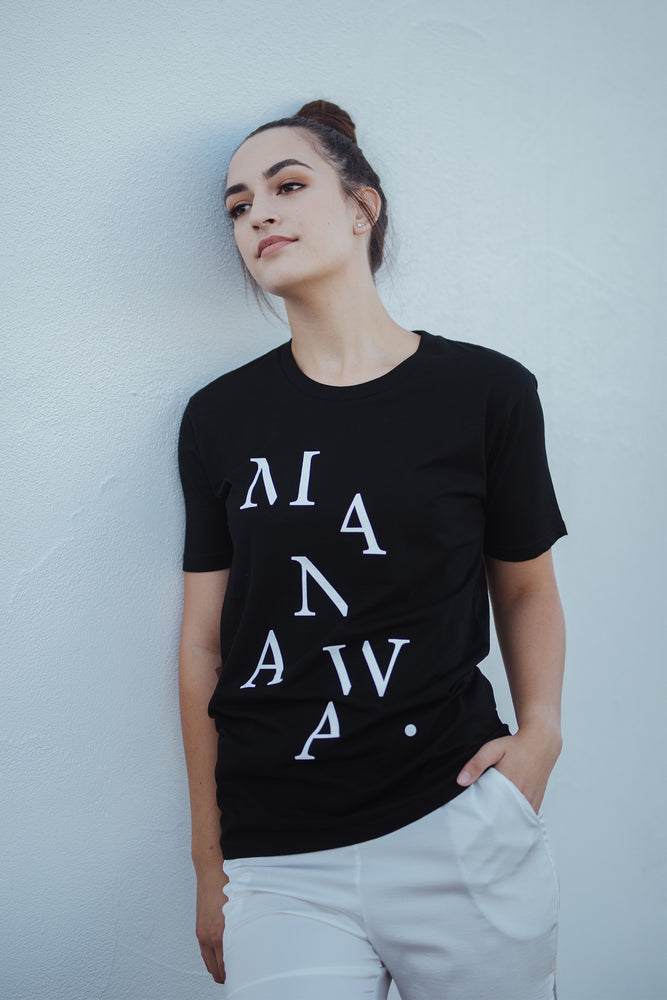 Load image into Gallery viewer, Manawa T-Shirt - Black