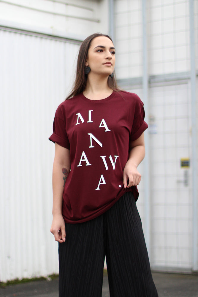Load image into Gallery viewer, Manawa T-Shirt - Maroon
