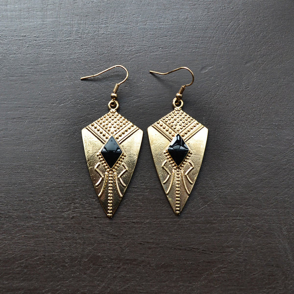 Bixby Light/Aqua Earrings - Cole Vintage