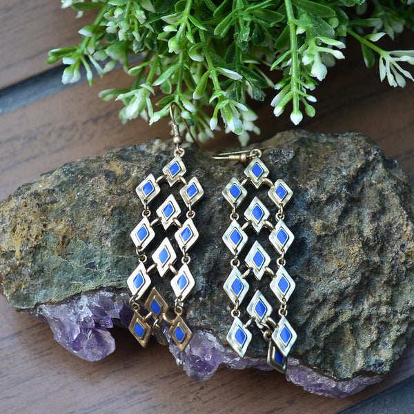 Batavia Earrings - Cole Vintage