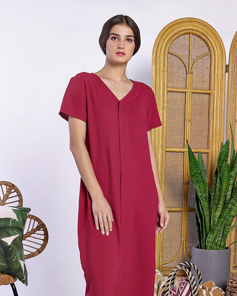 Hilaria Midi Dress - Cole Vintage