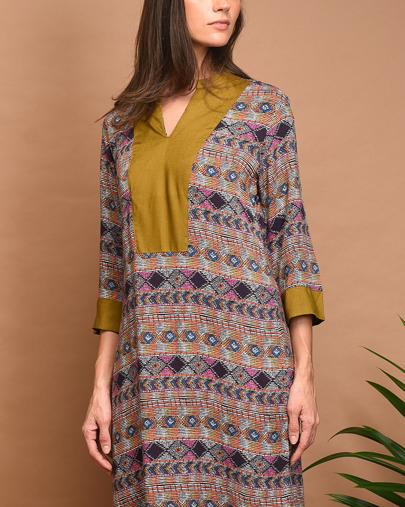 Margaret Tunic Dress - Cole Vintage