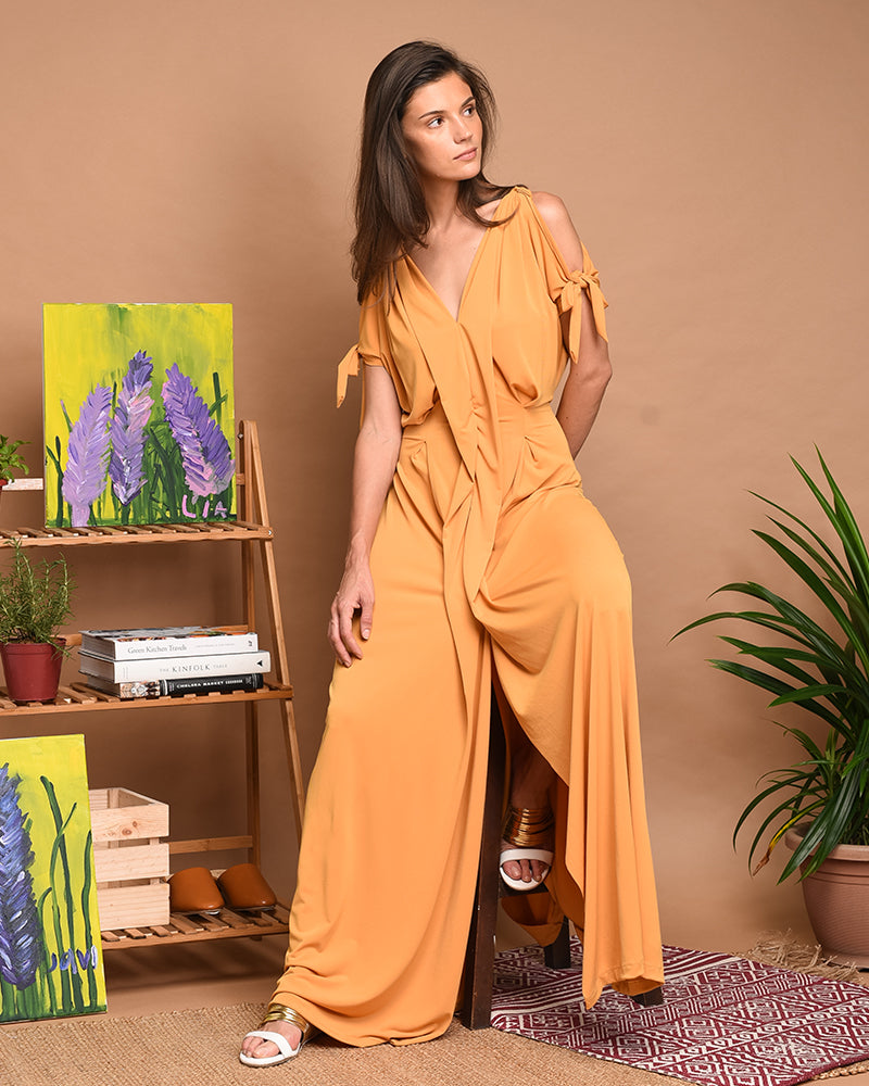 SENA MAXI DRESS - Cole Vintage