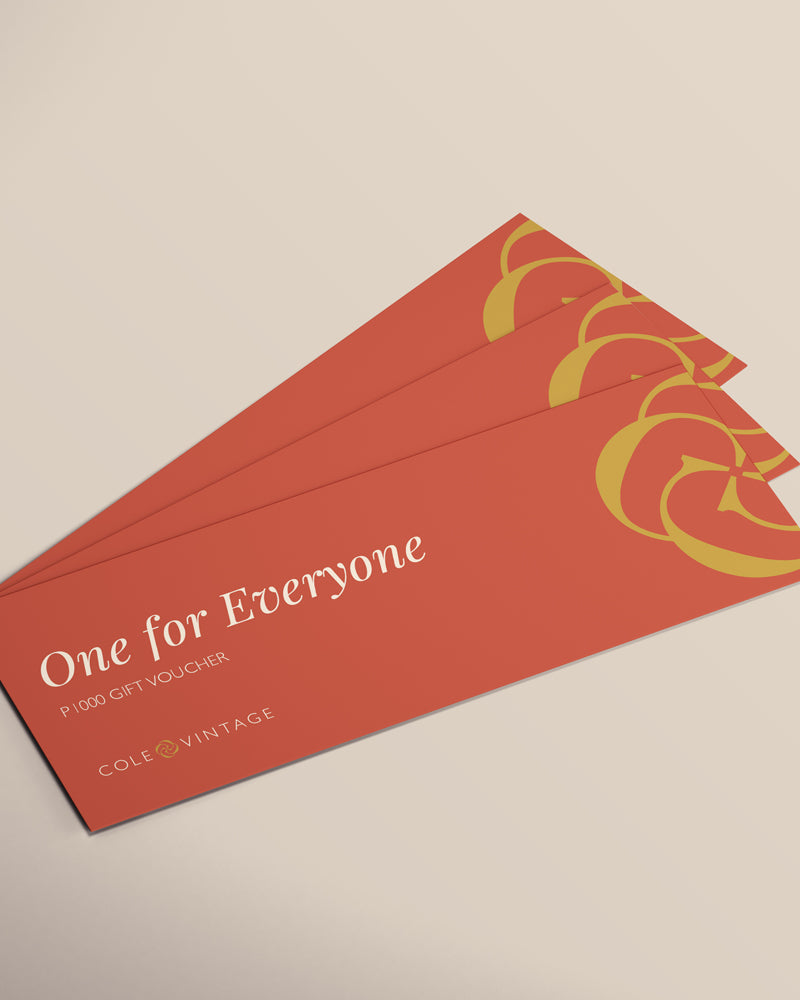 One for Everyone Gift Voucher - Cole Vintage