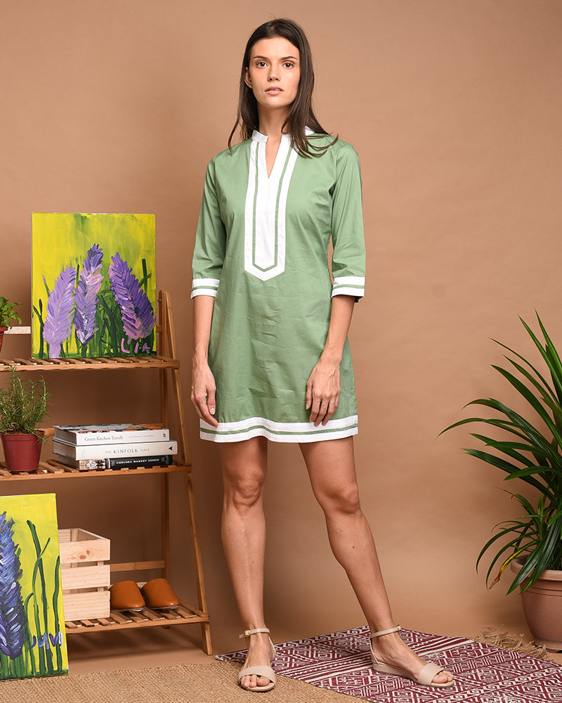 Athena Tunic Dress - Cole Vintage