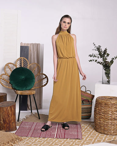 Cenobia Maxi Dress - Cole Vintage
