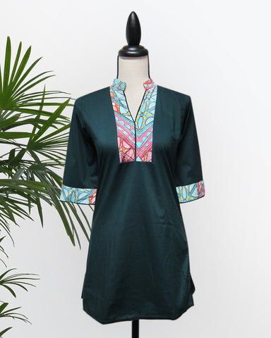 Althea Tunic Top - Cole Vintage