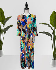 AMELIA MINT MAXI DRESS - Cole Vintage
