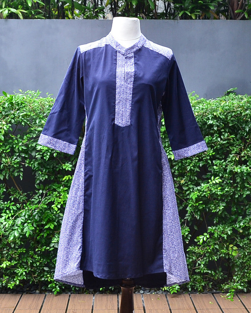 Donatella Tunic Dress - Cole Vintage