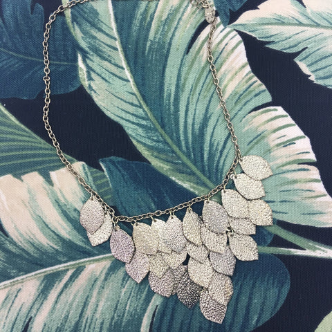 Corinth Leaf Necklace - Cole Vintage