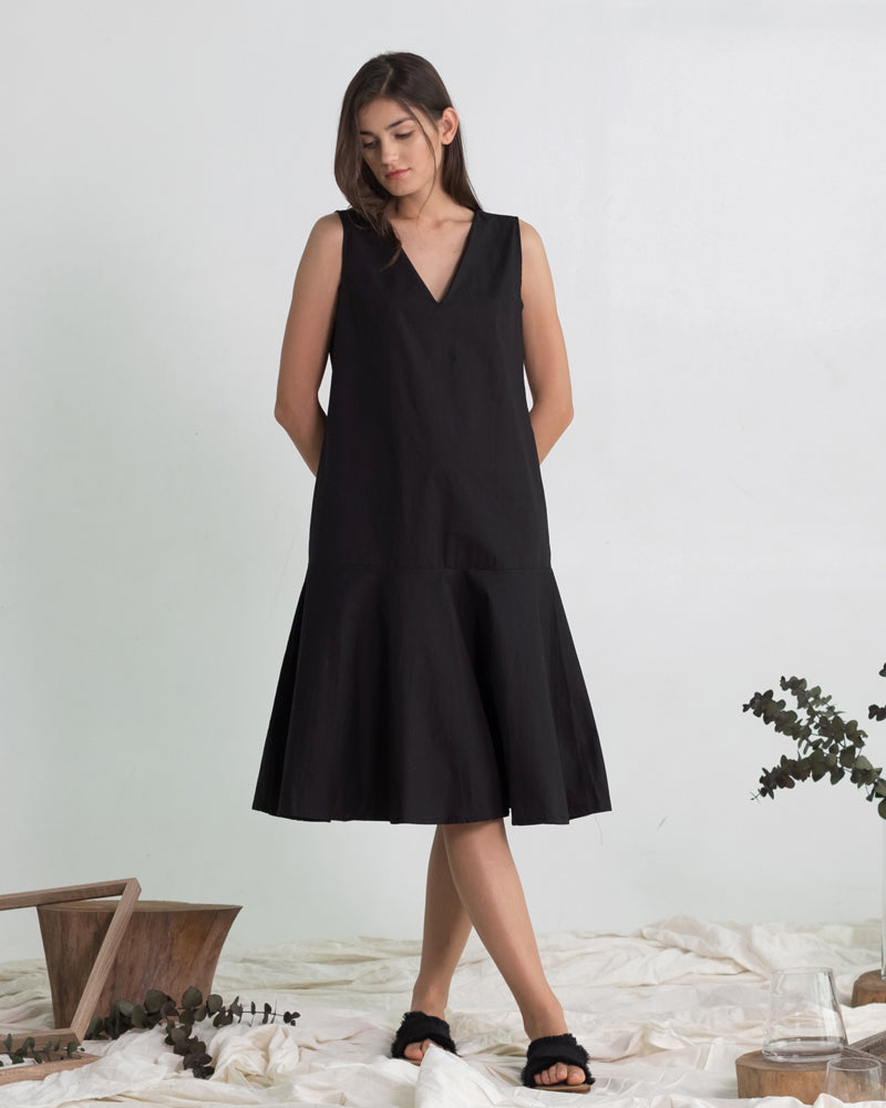Keziah Midi Dress - Cole Vintage