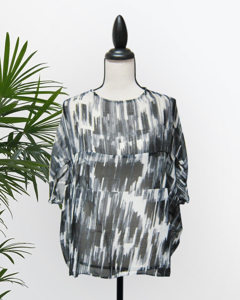Maryam Printed Top - Cole Vintage