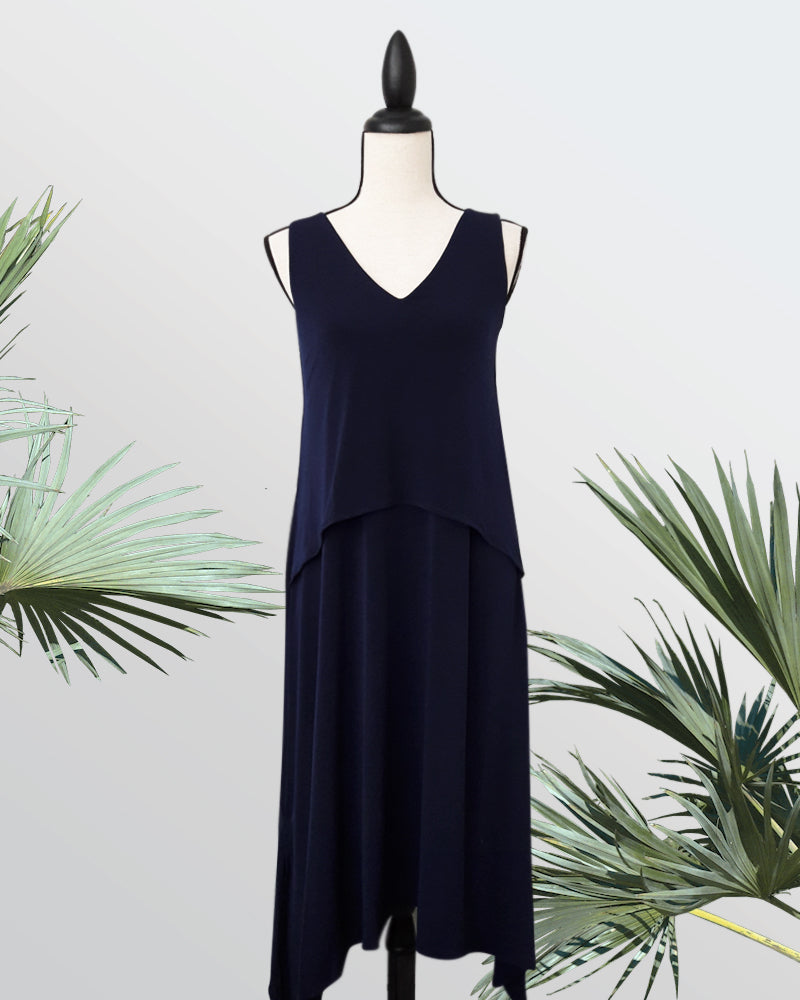 Tiana Midi Dress - Cole Vintage