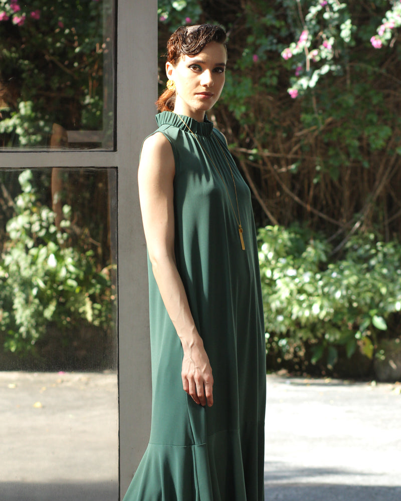 Zia Maxi Dress - Cole Vintage