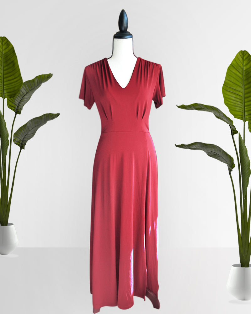 Charina Maxi Dres - Cole Vintage