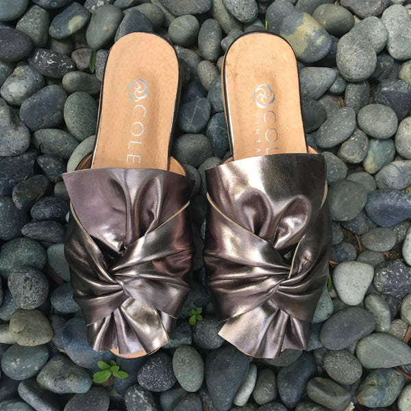 Colmar Metallic Ribbon Slip On
