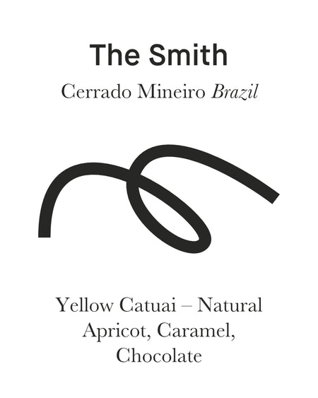 The SMITH - Cerrado Mineiro, Brazil - MAKER Coffee