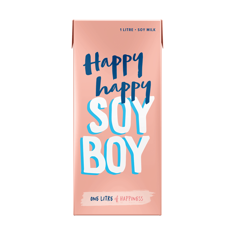 Happy Happy Soy Boy 1L 6 pack