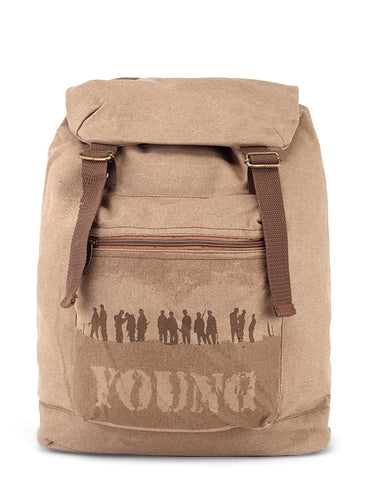 Baggabond Cotton Canvas Messenger Bag BGCM0002