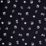 Kick Start Boy's Navy Blue Cotton Star Print Short Sleeve Regular Fit Shirt
