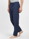 London Bee Men's Cotton Poplin Printed Pyjama/ Lounge Pant MPLB0136
