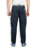 Navy Colour Cargo Full Pant