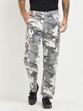 London Bee Army Print Cargo Pant MFPLB0023