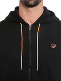 Black Colour Men's Hoodies