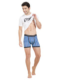 London Bee Mens Knitted Blue Color Boxer MKLB0005
