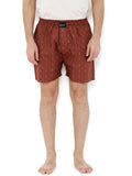 Rust Cotton Arrow Printed Boxers