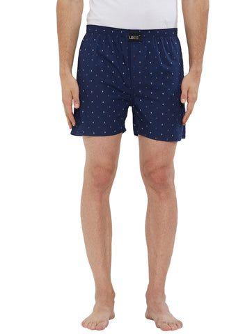 London Bee Men's Cotton Printed Boxer MLB0171