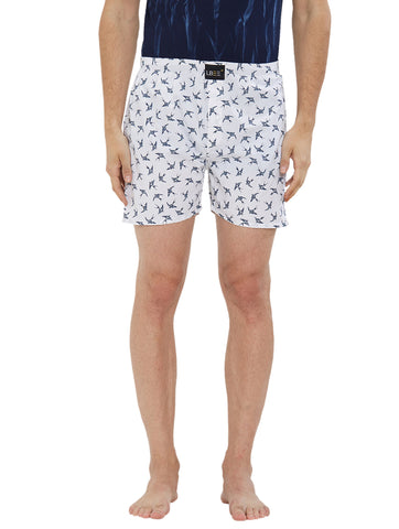 London Bee Men's Cotton Printed Boxer MLB0172