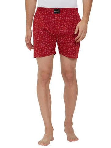 London Bee Men's Cotton Printed Boxer MLB0173
