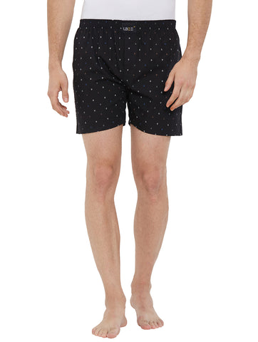 London Bee Men's Cotton Printed Boxer MLB0174