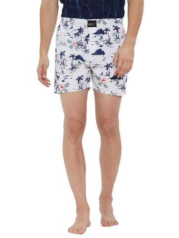 London Bee Men's Cotton Printed Boxer MLB0179